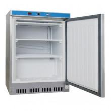 Congelator din inox, temperatura -10...-18 C, capacitatea de 120 l, 850x600x600 mm