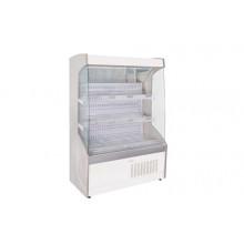 Vitrină frigorifică de perete pentru legume, cu perdea de noapte R290, cu iluminare, L=700 mm