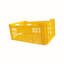 Ladă din plastic A112, 600x400x250 mm, galben