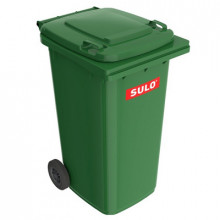 Tomberon pentru deşeuri 240 l, verde
