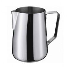 Cană cu mâner din oțel pentru spumarea laptelui 0,35 l