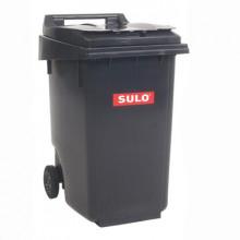Tomberon din plastic pentru deșeuri, 360 L