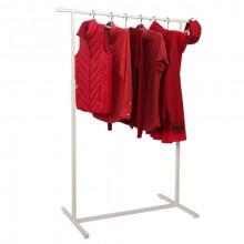 Cuier pentru îmbrăcăminte din oţel 900x550x1200/1750mm (9001)